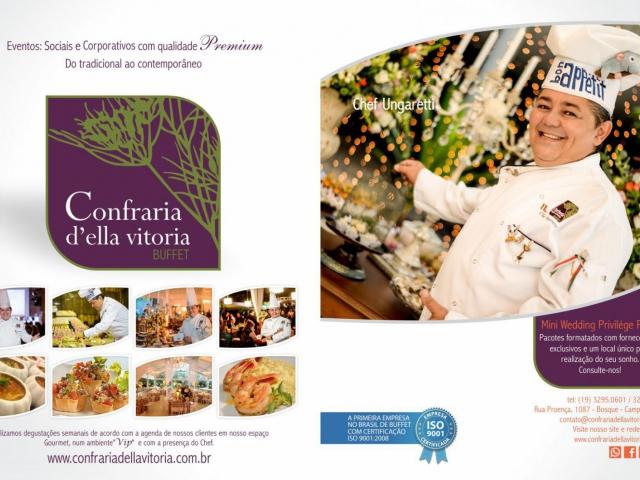 Eventos Corporativos - Confraria D'ella Vitória Buffet Campinas SP