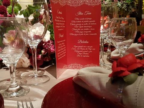 Eventos Sociais: Casamentos, 15 Anos, Bodas, Aniversários, Recepções em sua residência, etc. - Confraria D'ella Vitória Buffet Campinas SP - 45