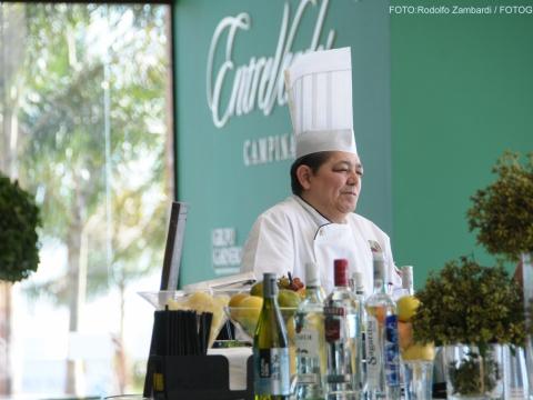 Chef em Ação - Confraria D'ella Vitória Buffet Campinas SP - 8