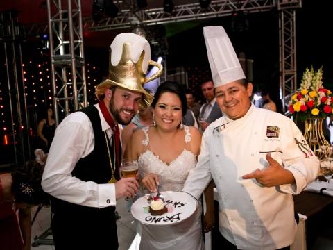 Chef em Ação - Confraria D'ella Vitória Buffet Campinas SP - 15