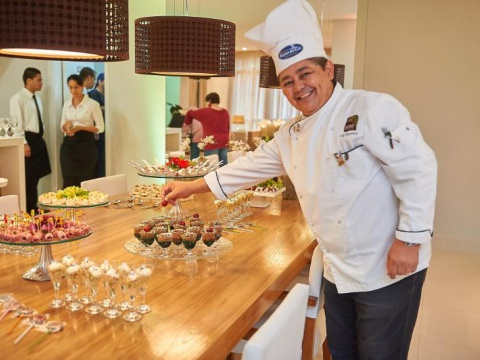 Chef em Ação - Confraria D'ella Vitória Buffet Campinas SP - 6